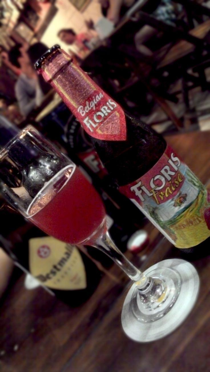 Floris Fraise.Belgian, Fruit Beer.