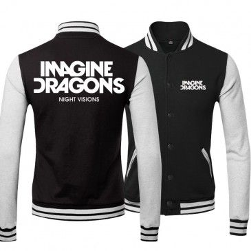 Imagine Dragons Night Vision Logo Baseball Shirts