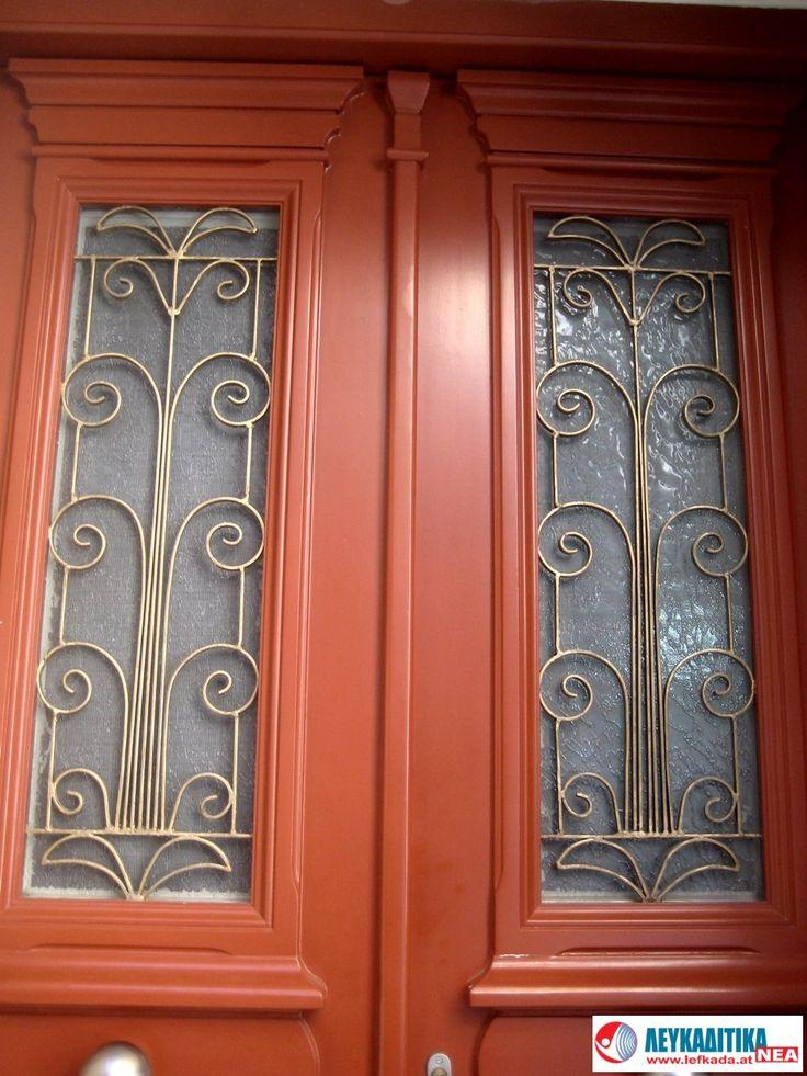 Διακοσμητικά κάγκελα πόρτας Νο 3.