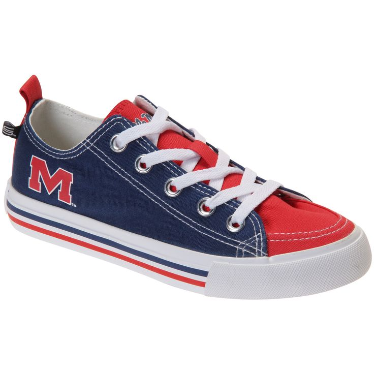 Snicks Ole Miss Rebels Women's Low Top Sneakers
