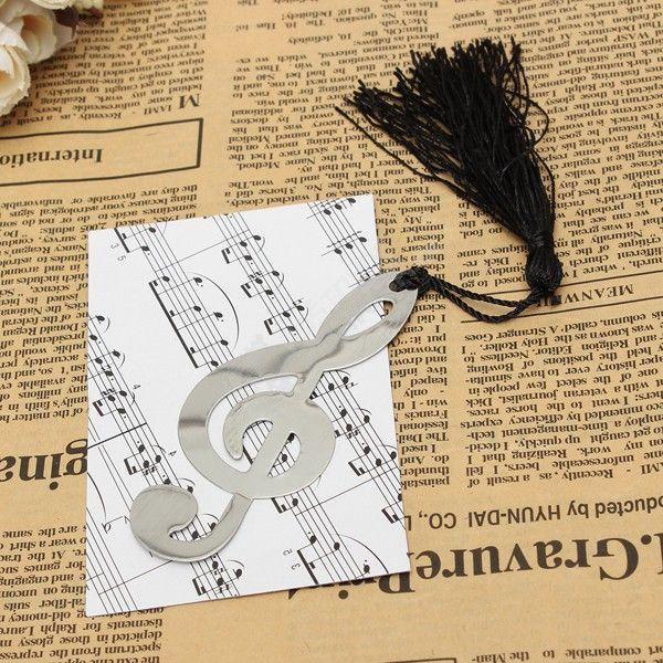Hudební záložka do knihy - houslový klíč