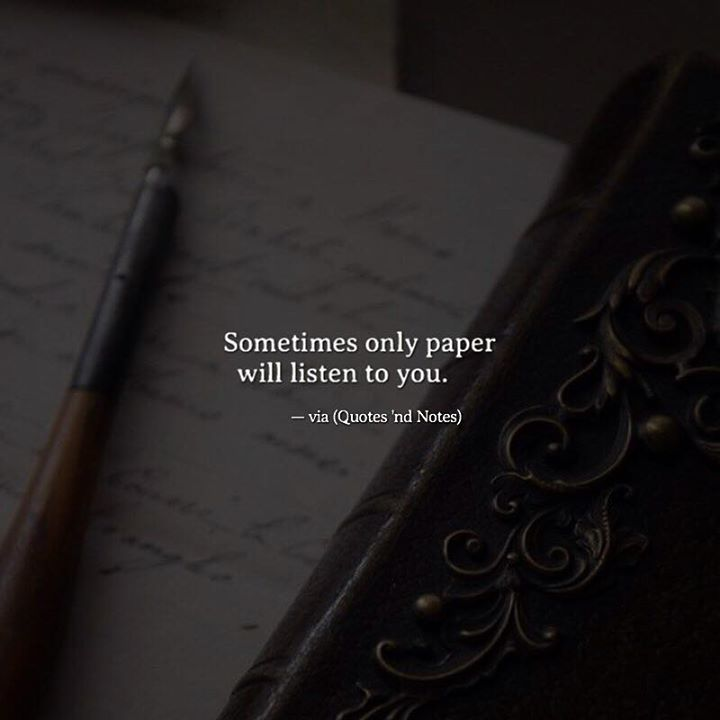Sometimes only paper will listen to you. —via http://ift.tt/2eY7hg4