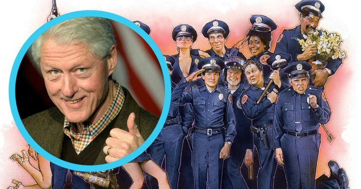 Steve Guttenberg Responds to Bill Clinton's Love for Police Academy -- Steve Guttenberg says it was a 'delightful surprise' to learn that Bill Clinton watched all six Police Academy movies with his daughter Chelsea. -- http://movieweb.com/police-academy-bill-clinton-steve-guttenberg/