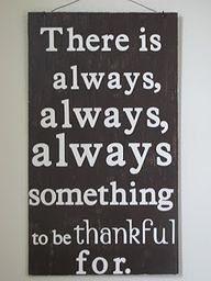 thankful / Amen!