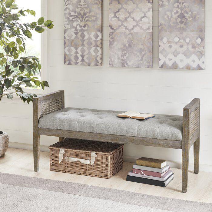 Slayden Bench Home Decor Furniture Upholstered Bench Bedroom