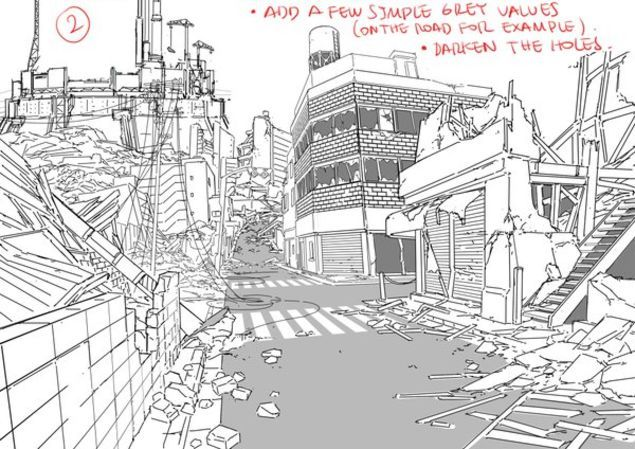 Tips For Drawing Backgrounds Art Background Background Drawing Drawings