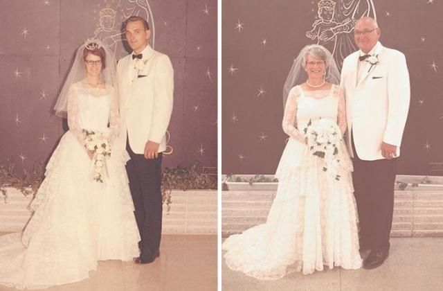 Małżeństwo postanowiło wrócić do dawnych lat. Sesja, która zapada w pamięci!