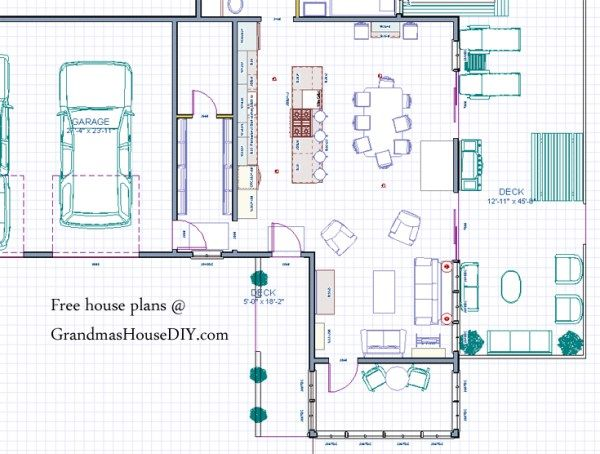 17 Best images about Free House Plans Grandmas House DIY on
