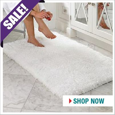Super stylish! Ultimate Memory Foam Bath Mats START YOUR SHOPPING HERE…  http://www.beddingtons.com/p-6605-ultimate-memory-foam-bathmat.aspx  #Bathroom #BathMats #Sale #Sales #Beddingtons