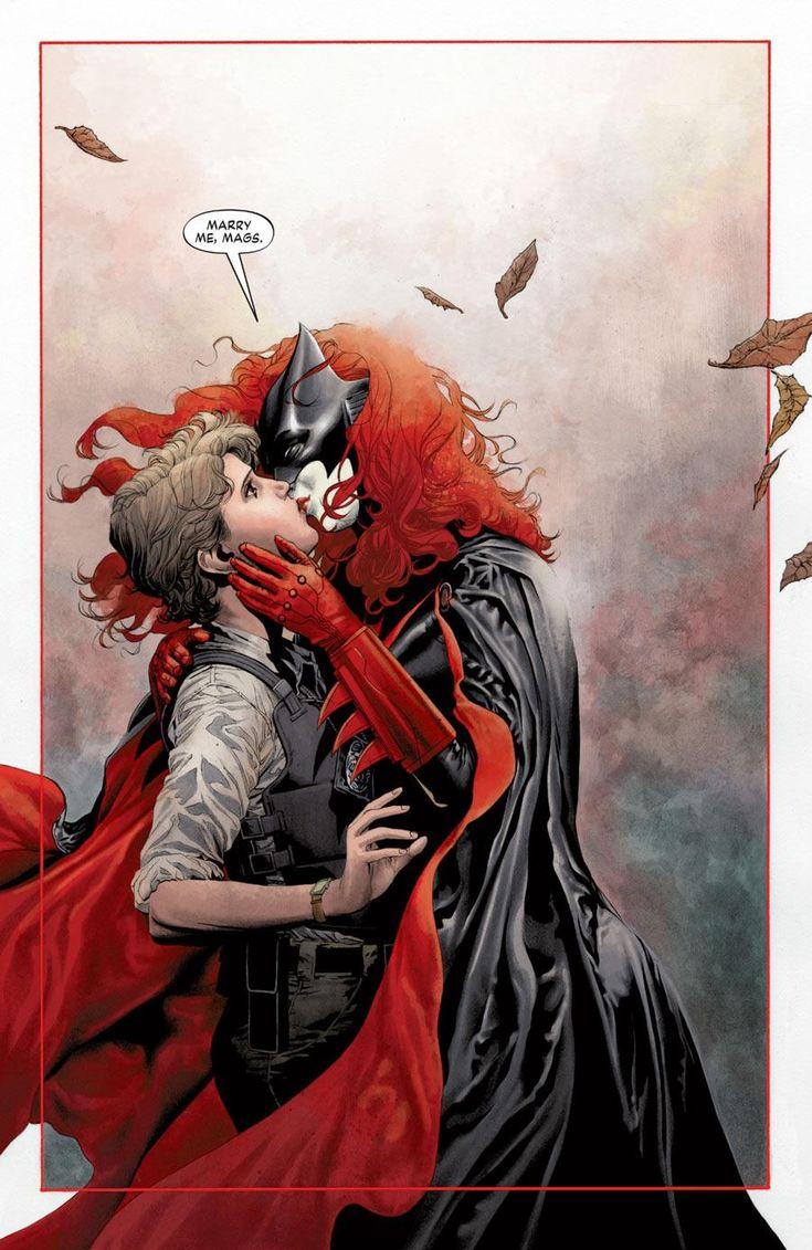 kate kane proposes to maggie sawyer in batwoman 17