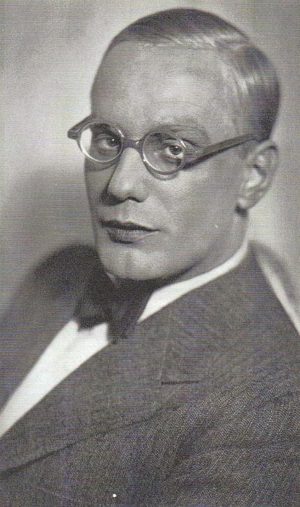 Gustaf Gründgens 1931 . Er führte ein Doppelleben als schwuler Mann in Nazi Deutschland.