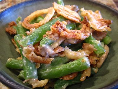 My favorite Thanksgiving side dish - prepared vegan style!