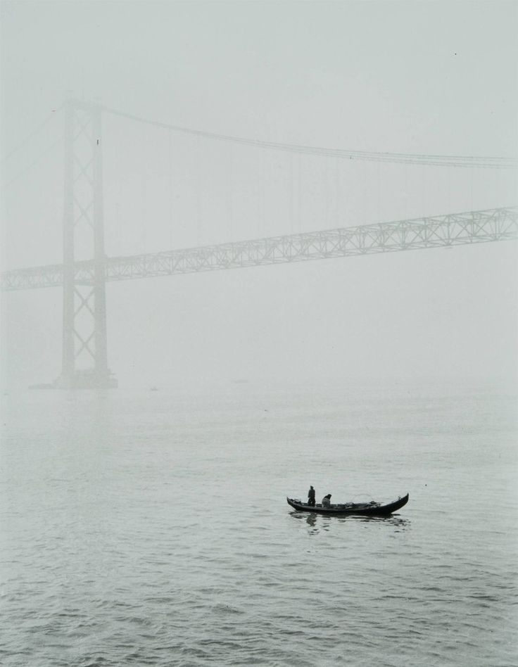 Ponte Salazar, Lisboa (E. Gageiro, c. 1966)