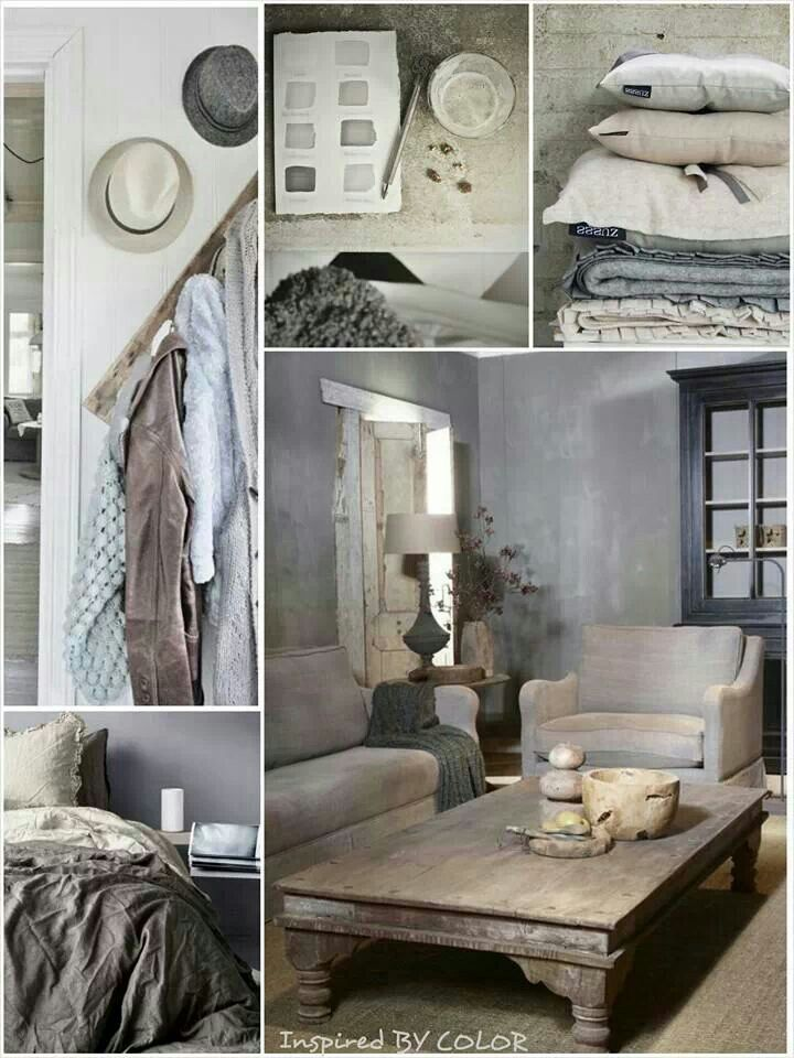 MOODboard | Interieuradvies landelijke stijl. Inspired BY COLOR #anke