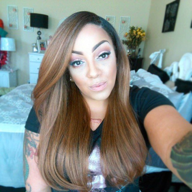 Voluminous Straight Hair || IG: @muffinismylovers || Lacefront Batik Dominican Blowout Straight (Color: DR30)