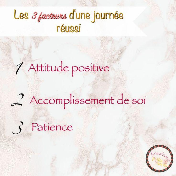 3 facteurs au bonheur.