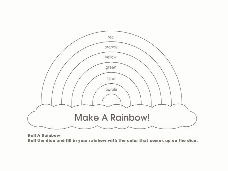 126 best St Patricku0027s Day images on Pinterest Gardens, Cut and - rainbow template
