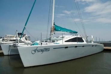 52' Morelli & Melvin Custom- Frangines is a custom built multihull, designed by the well know group of Morelli and Melvin. They are best known for their work with BMW Oracle racing, Steve Fossett, and Corsair.