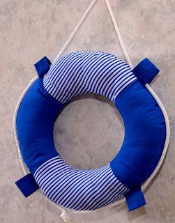 ДВА ЧЕМОДАНА: В нашу гавань заходили корабли.... или декор детской комнаты в морском стиле