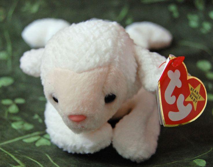 Ty Beanie Babies Original Baby Fleece The Lamb