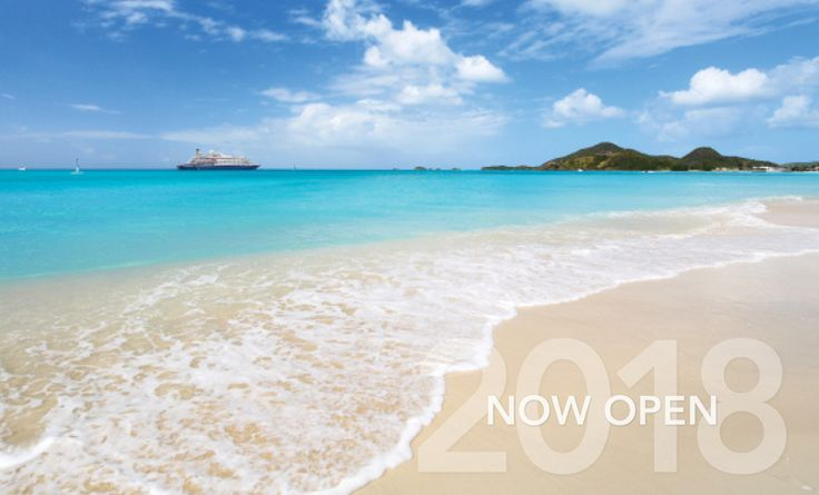 In 2018, you'll discover great itineraries in the Caribbean, with both yachts sailing there from January – April. In late spring 2018, SeaDream I & II cross the Atlantic, spending May – October, yachting the Mediterranean
