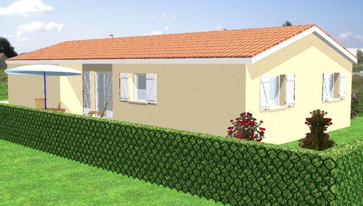 Maisons plain pied 3 chambres de 78 m² construite par Demeures Familiales