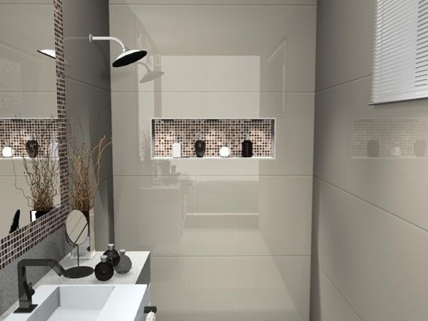 24 best images about Banheiros interessantes on Pinterest  Madeira, Decks an -> Banheiro Pequeno E Moderno