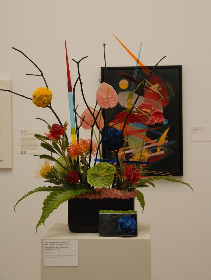 Woodside Atherton Garden Club, Mrs. Lurline R. Coonan. Bouquets To Art  2012. Arte FloralGarden ClubIkebanaFlower ...