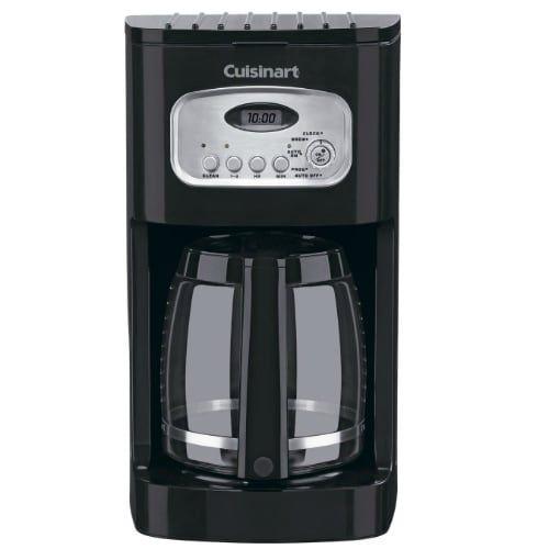 Refurbished Cuisinart Coffeemaker 12-Cup Programmable Coffeemaker, Brown coffee