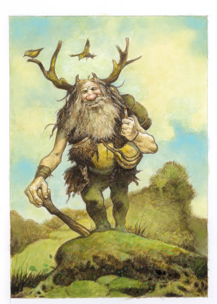 the troll, by Larry MacDougall | illustration art ...