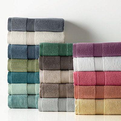 Legends® Egyptian Cotton Towels, Mulberry Bath Mat $30, Bath Sheet $46 (x2)