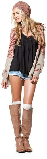 Ahhhhhh boots <3: Sweater, Short Shorts, Short Boots, Style, Clothes, Outfit, Has
