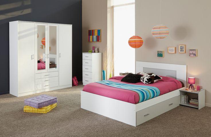 Les 25 meilleures id es concernant chambre adulte complete sur pinterest ta - Chambre adulte 160x200 ...