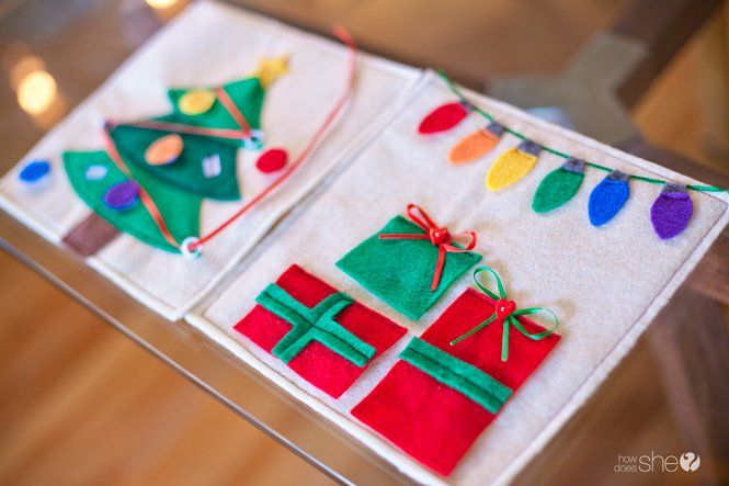 Just Released! New WINTER Quiet Book Patterns! – How Does She