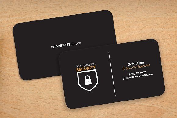 Dark Theme Rounded Corners Cards Business Cards Mockup Psd Business Card Mock Up Business Card Template