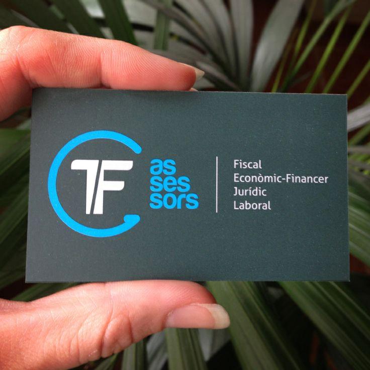 Tarjeta TF Assessors. #Branding #Logo