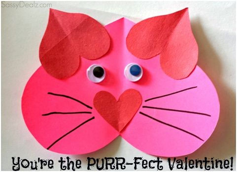 You Are The Purrfect Valentine. Catalina will love the kitty