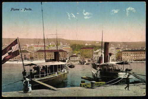Osztrák-Magyar monarchia, Fiume; Porto | Képcsarnok | Hungaricana
