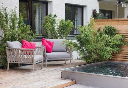 die besten 25 wasserbecken garten ideen auf pinterest wasserspiel balkon brunnen und. Black Bedroom Furniture Sets. Home Design Ideas