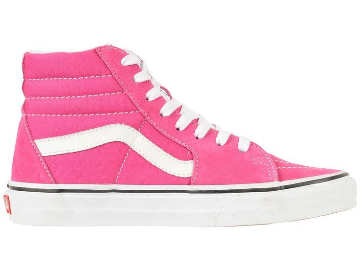 Vans SK8-Hitm Skate Shoes Very Berry/True White