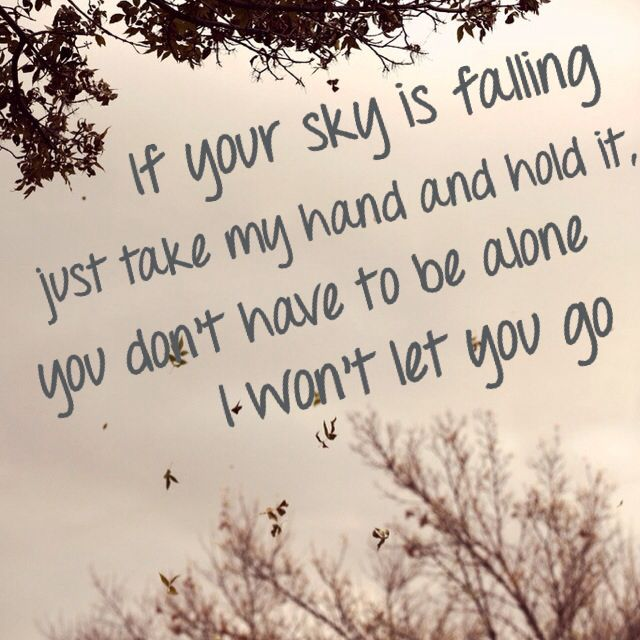 """""""Won't Let You Go"""" - James Morrison"""