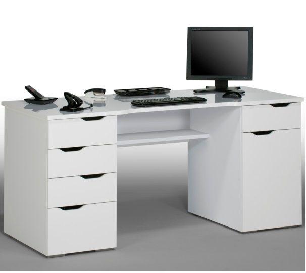 White Computer Desk – check various designs and colors of White Computer Desk on Pretty Home. Also checkU Shaped Desk http://www.prettyhome.org/white-computer-desk/