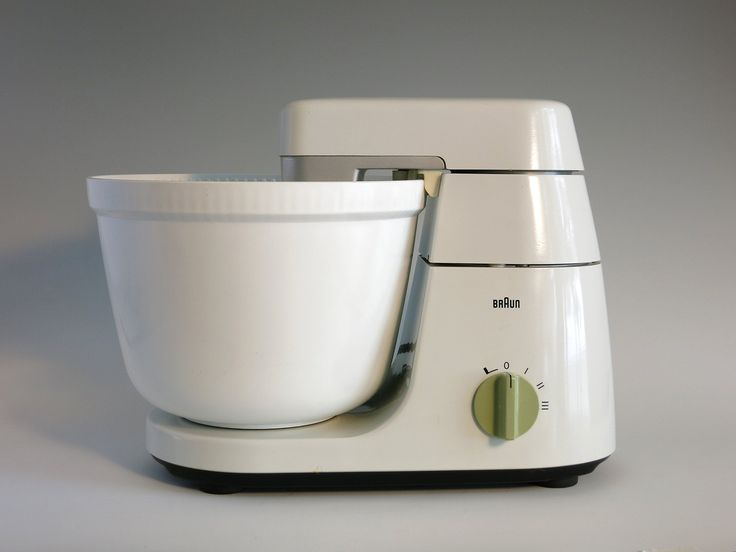 Vintage Braun KM32 Kitchen Mixer - Braun Kitchen Machine with Bowls and Attachments - Müller, Oberheim Design - Braun Germany Appliance by EightMileVintage on Etsy