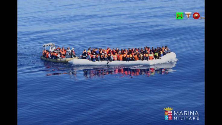 MARINA MILITARE: Tre unità navali hanno soccorso circa 600 Migranti in d...
