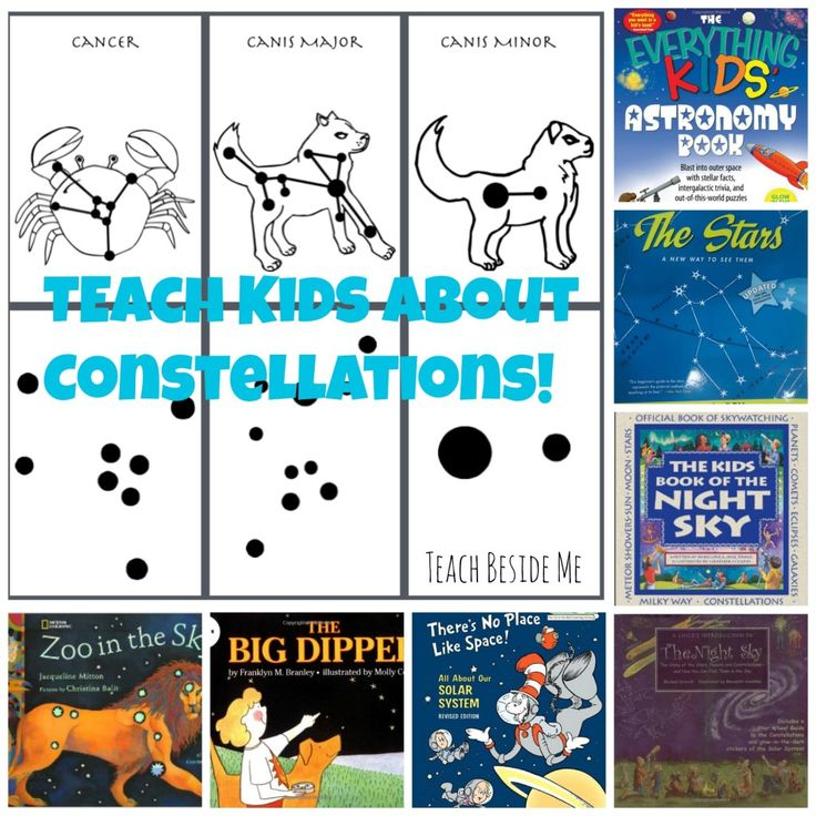 Creative ideas to teach constellations to kids