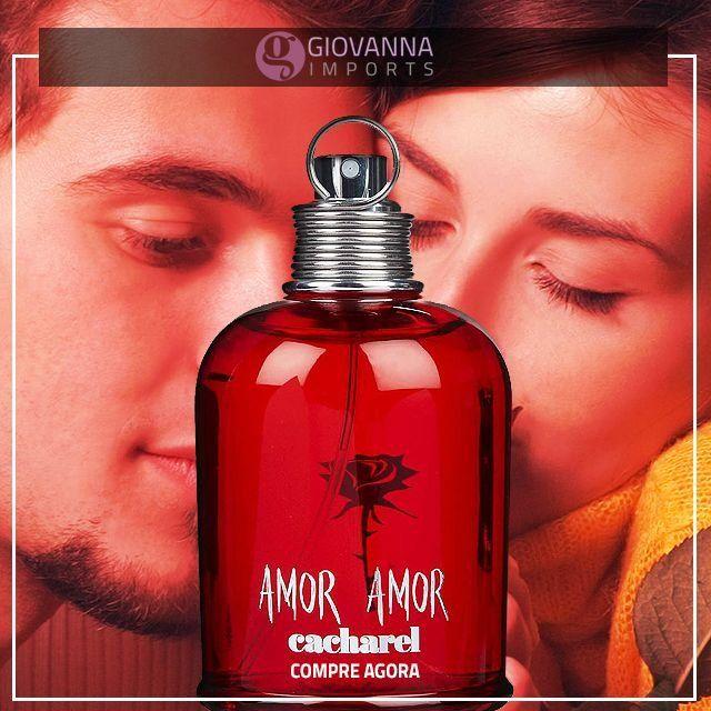 Perfume Amor Amor 100ml Cacharel Feminino - Perfumes Importados Gi - Compre Agora com Frete Grátis