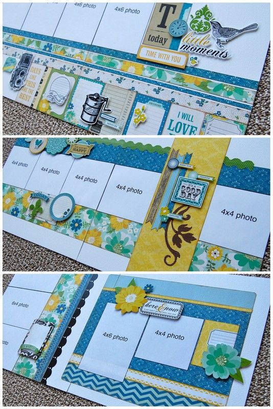 Debbie Sanders 'Super Saver' layouts for Saturday