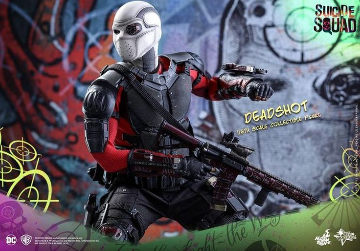 Hot Toys teases their deluxe Deadshot, Harley Quinn and Joker Suicide Squad figures   Blastr