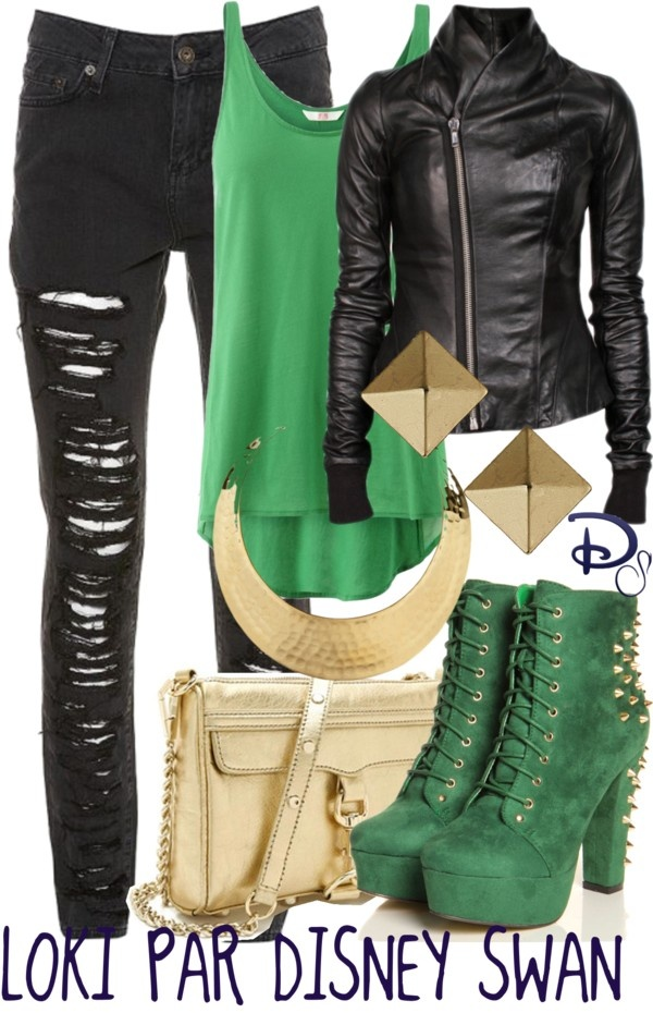 """Loki"" by ds-bexi on Polyvore"