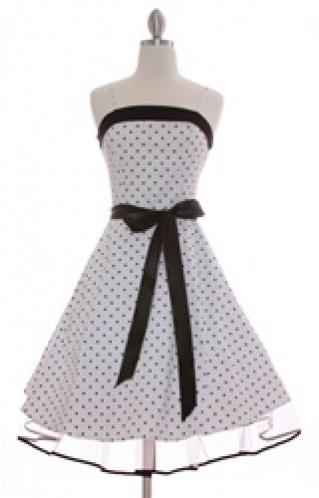 Rockabilly Dresses 50's Dress Swing if not a rockabilly halter may be one like this